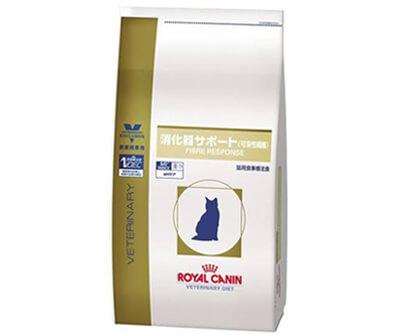 便秘の猫におすすめの白いパッケージのキャットフードのロイヤルカナン
