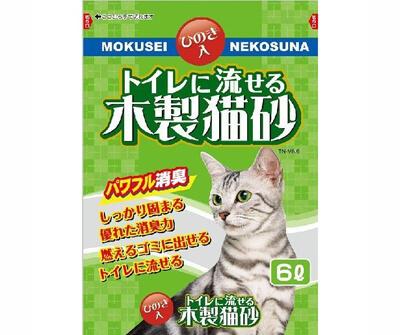 パワフル消臭のしっかり固まる猫砂